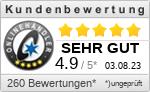 Kundenbewertungen für Plissee1fach.de
